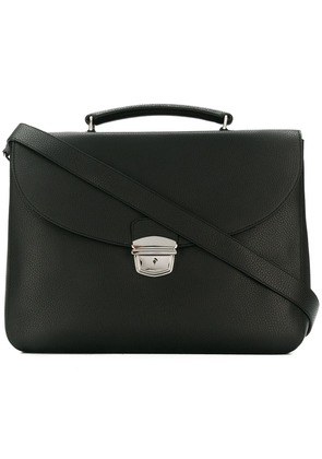 Orciani foldover top briefcase - Black