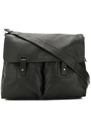 Orciani messenger bag - Black