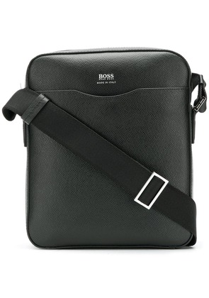 Boss Hugo Boss saffiano messenger bag - Black