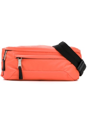Prada Nylon and leather belt bag - Orange
