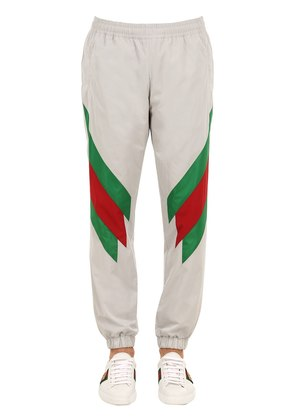 TECH NYLON TRACK PANTS