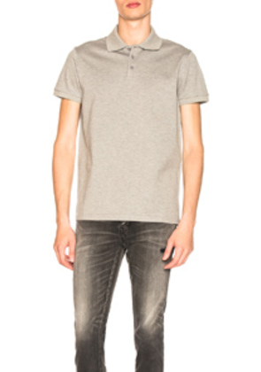 Saint Laurent Sport Polo in Gray