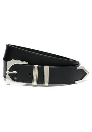 Versus Versace Woman Leather Belt Silver Size 75