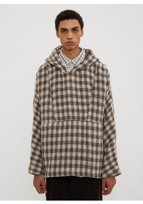Our Legacy 90's Festival Check Parka in Grey size EU - 46
