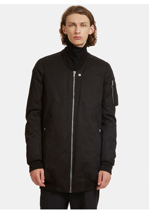 Rick Owens Faun Oversized Flight Bomber Jacket in Black size EU - 52