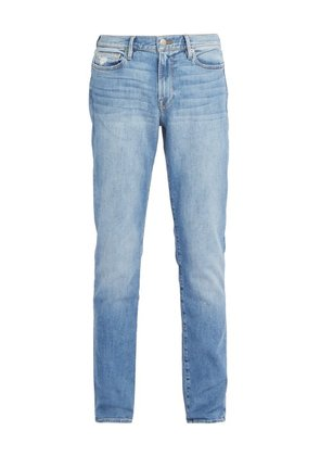 Frame - L'homme Washed Slim Fit Jeans - Mens - Light Blue