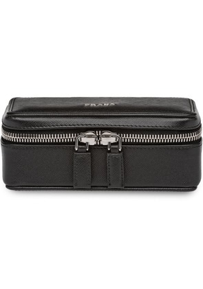Prada Cufflink zipped holder - Black
