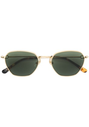 Alessandra Rich round sunglasses - Gold