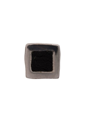 Guidi square stud earrings - Silver