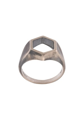 M. Cohen The Parallax ring - Silver
