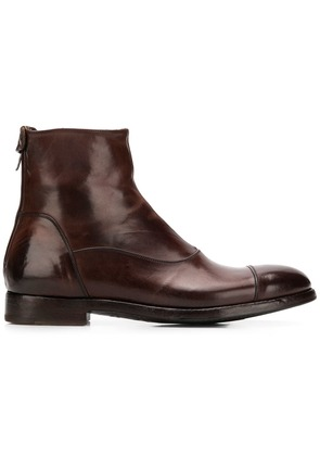 Alberto Fasciani high ankle boots - Brown