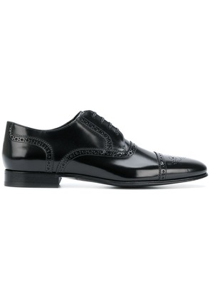 Dolce & Gabbana pointed toe brogues - Black