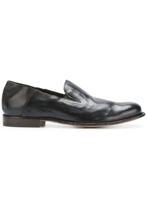 Officine Creative distressed loafers - Brown