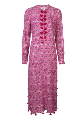 Figue Paolina paisley kaftan dress - Pink