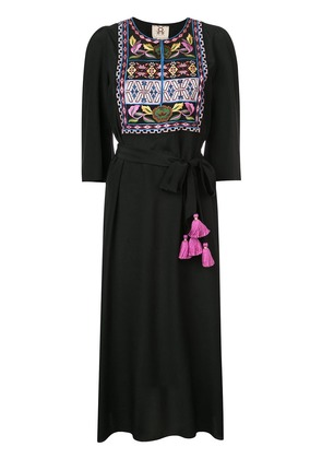 Figue Dahlia bib dress - Black