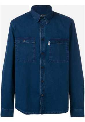 A.P.C. classic denim shirt - Blue