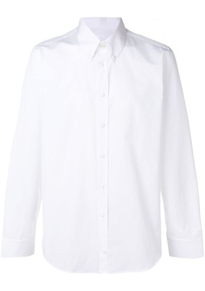 Helmut Lang double breasted shirt - White