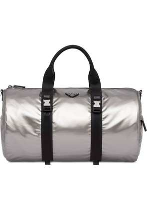 Prada technical fabric duffle bag - Silver