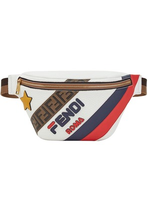 Fendi FendiMania panelled belt bag - White