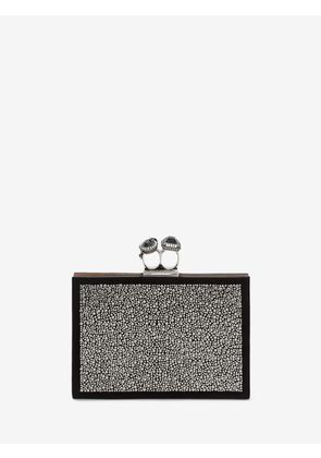 ALEXANDER MCQUEEN DOUBLE RING FLAT POUCHES - Item 45432648
