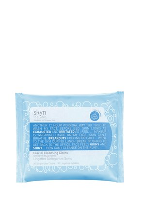 GLACIAL CLEANSING CLOTHS