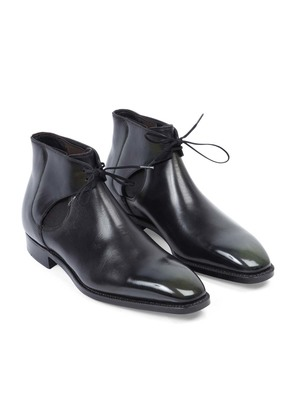 Norman Vilalta Black Decon Reconstructed Chelsea Boot