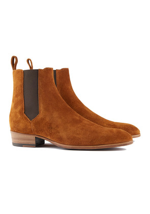 Barbanera Brown Suede Chelsea Boots