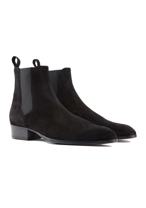 Barbanera Black Suede Chesea Boots