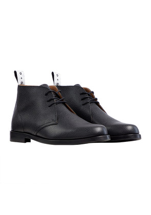 Duke & Dexter Pebble Leather Laced Chukka Boot