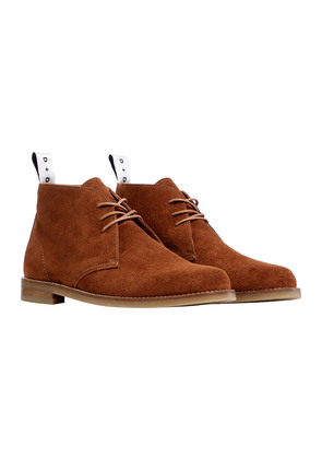 Duke & Dexter Tan Suede Laced Chukka Boot