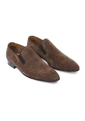 Matthew Cookson Dark Brown Exeter Easy Shoes