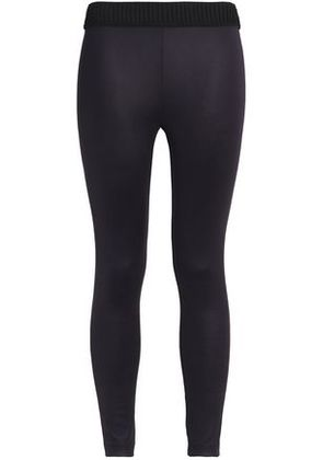 Koral Woman Wired Cropped Stretch Leggings Merlot Size XS
