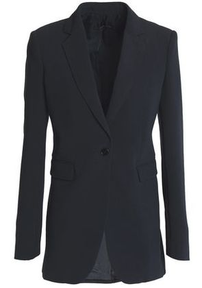 Joseph Woman Crepe Blazer Midnight Blue Size 36