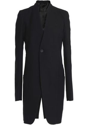 Rick Owens Woman Ribbed-knit Wool Blazer Black Size 42