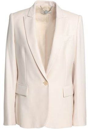 Stella Mccartney Woman Wool-piqué Blazer Ivory Size 40