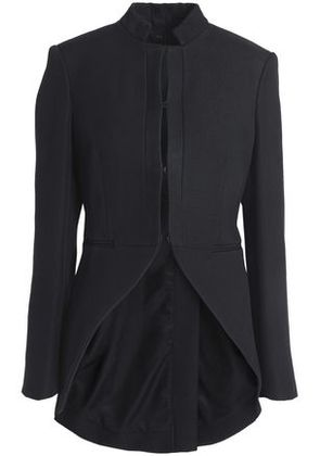 Rag & Bone Woman Keri Cutout Cotton-blend-piqué Blazer Black Size 4