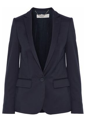 Stella Mccartney Woman Wool-twill Blazer Midnight Blue Size 44