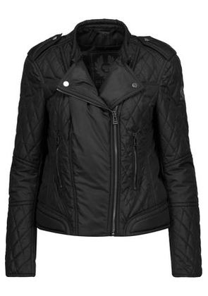Belstaff Woman Enduro Quilted Shell Jacket Black Size 46