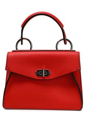 Proenza Schouler Woman Small Hava Textured-leather Tote Red Size -