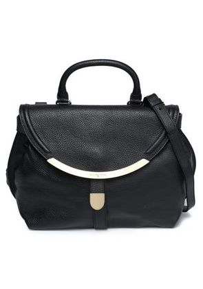 See By Chloé Woman Lizzie Pebbled-leather Shoulder Bag Black Size -