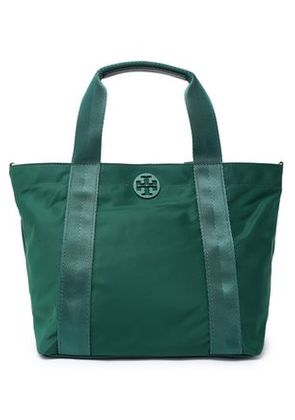 Tory Burch Woman Shell Tote Emerald Size -
