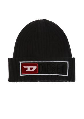 Diesel Patched ribbed hat
