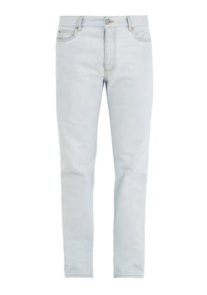 Maison Margiela - Super Bleach Straight Leg Jeans - Mens - Blue