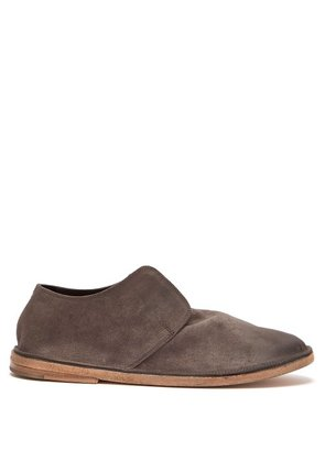 Marsèll - Tost Suede Low Desert Boots - Mens - Grey