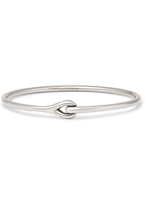 Neo Rhodium-plated Sterling Silver Cuff