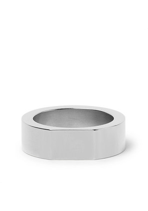 Alice Made This - Bacchus Stainless Steel Signet Ring - Silver