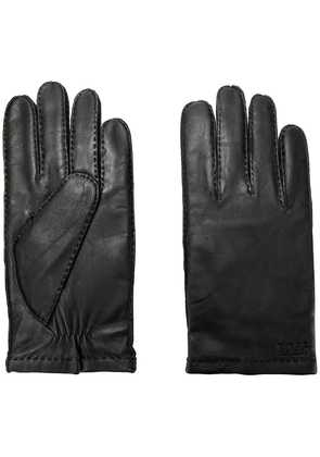 Boss Hugo Boss stitch detail gloves - Black
