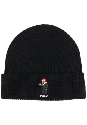 Polo Ralph Lauren holiday ribbed-knit beanie - Black