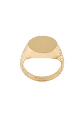 A.P.C. Rayure ring - Yellow