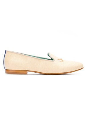 Blue Bird Shoes straw loafers - Neutrals